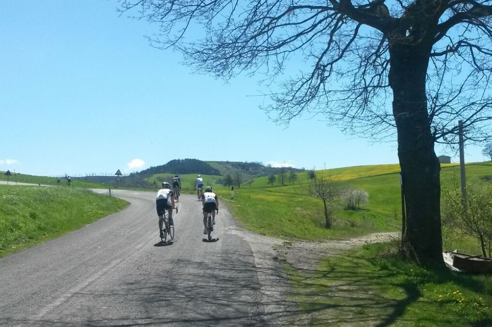 Radtrainingslager in Cesenatico April 2016