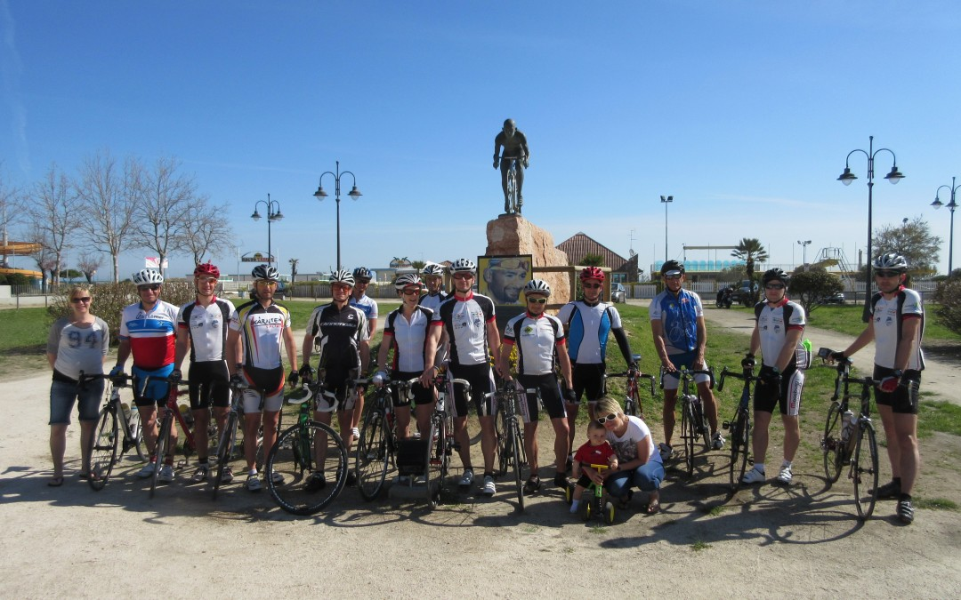 Radtrainingslager in Cesenatico April 2015