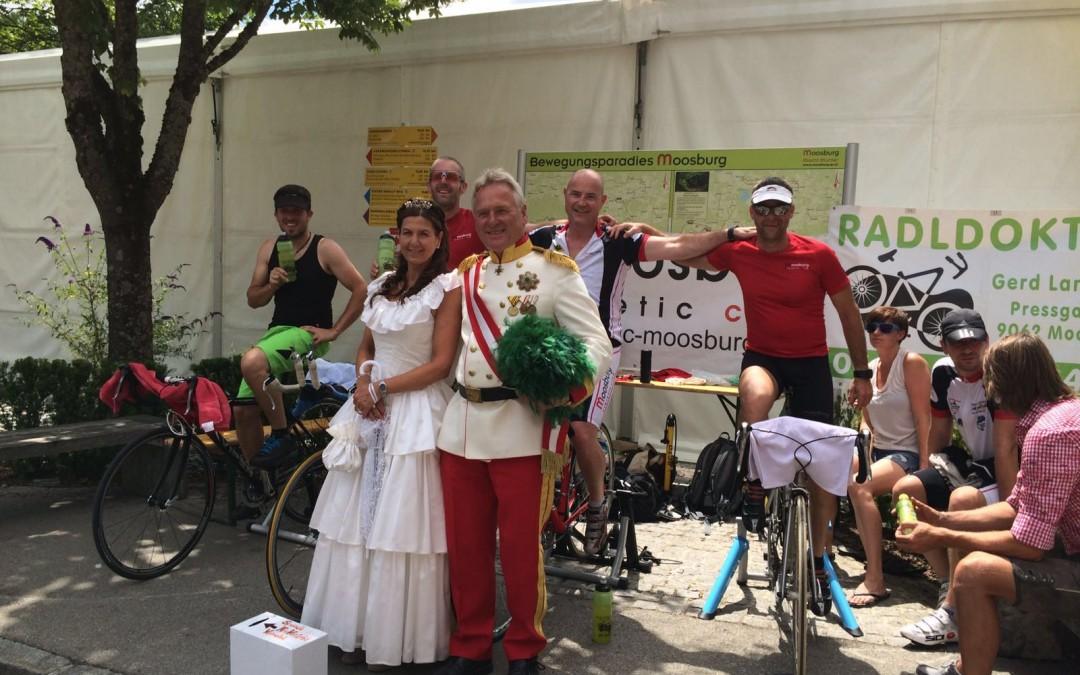 Radfahren für einen guten Zweck beim 30. Arnulfsfest 2016