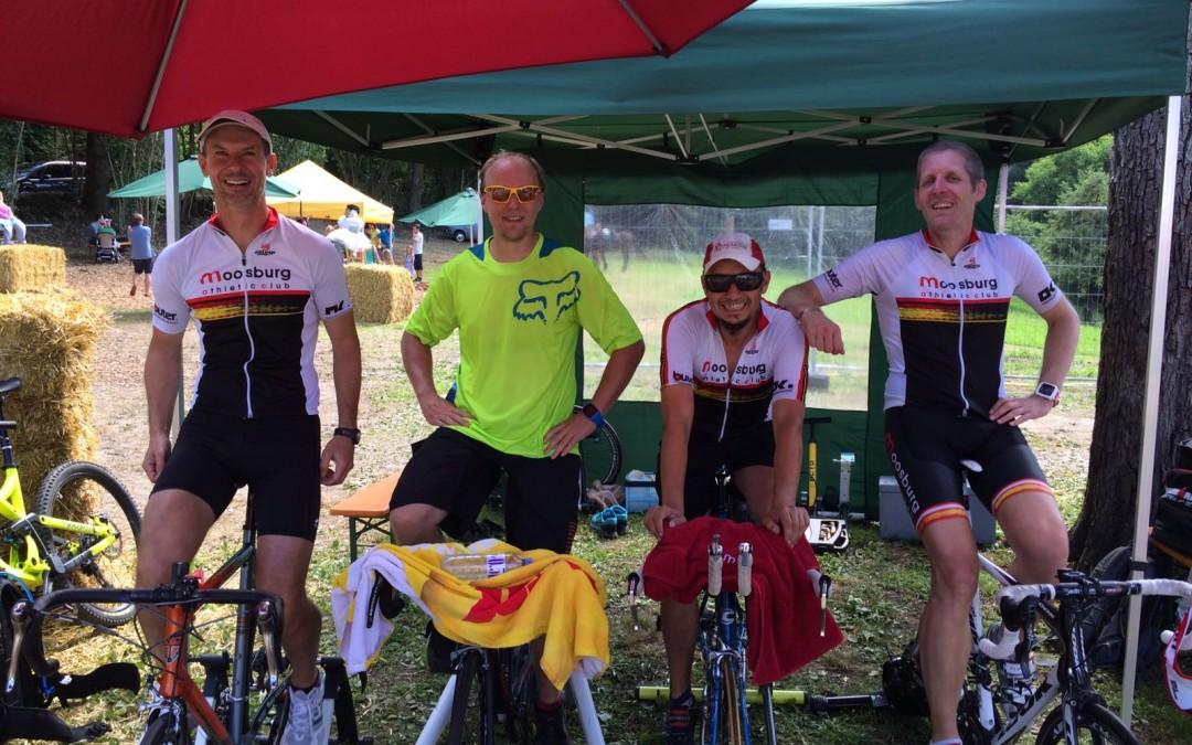 """Radfahren für den Verein """"Hirnverletzt"""" beim Arnulfsfest am 8. Juli 2017 in Moosburg"""